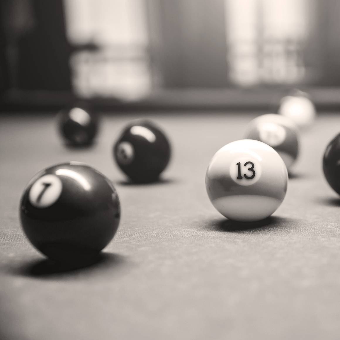 Image of pool balls